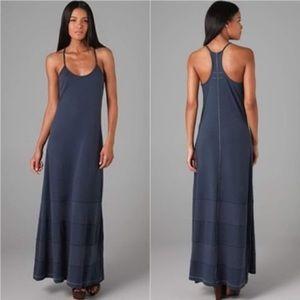 Rag & Bone Knit Blue Maxi Dress, Size Small